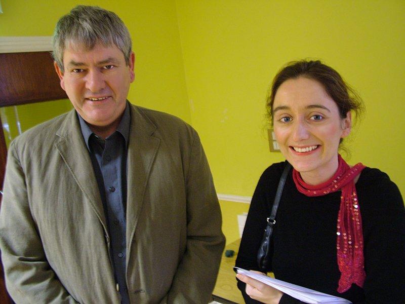 Cumann Merriman Winter School 2007 press conference